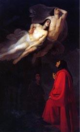 Inf__06_Giuseppe_Frascheri,_Dante_e_Virgilio_incontrano_Paolo_e_Francesca,_1846