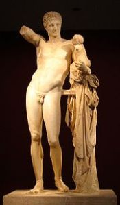 180px-Hermes_di_Prassitele,_at_Olimpia,_front
