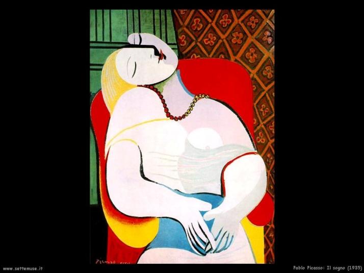 Il sogno, 1935 (periodo dell'espressionismo)