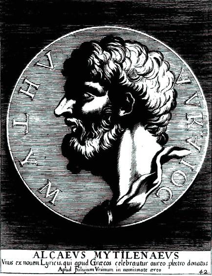 Alceo di Mitilene di Giovanni Pietro Bellori