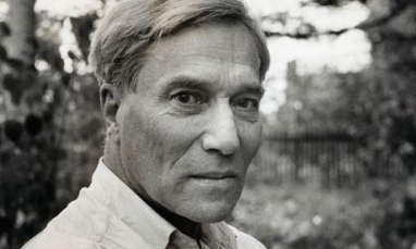 Author Boris Pasternak at Peredelkino, a writer's colony, October 1958