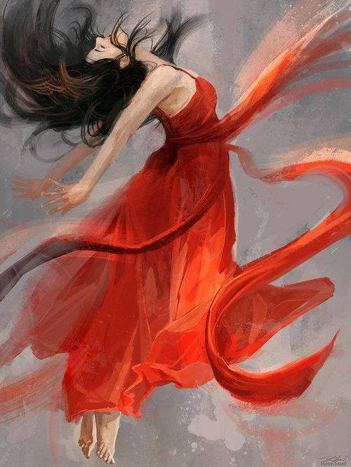 donna-che-vola-arancione