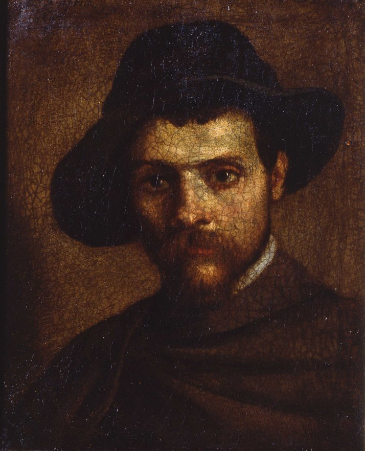 Annibale_Carracci_Autoritratto_col_cappello_a_quattr'acque