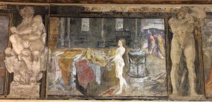Fregio_di_Giasone_e_Medea_7_ludovico_carracci,_uccisione_di_pelia,_1584_ca.