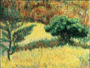 85403-Giacomo-Balla-Alberi-e-siepe-a-Villa-Borghese